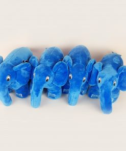 Authentic blue elephpant