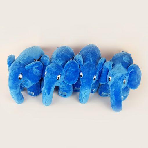 Authentic blue elephpant
