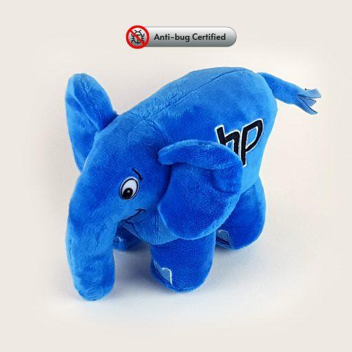 blue elephpant